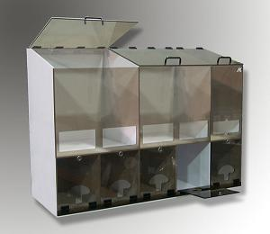 5 Compartment Container