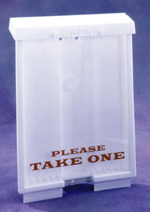 289-OBH-1 OUTDOOR BROCHURE HOLDER
